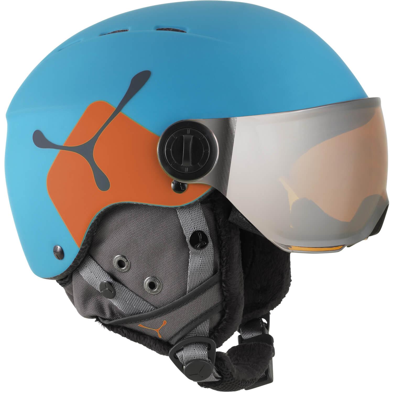 Mit dem Fireball Junior bringt Cebe einen sehr erwachsenen Kinder Skihelm Der größte Unterschied zum Erwachsenenhelm ist Größe und das Gewicht